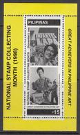 1998 Philippines Cinema Movies Souvenir Sheet MNH - Filippijnen