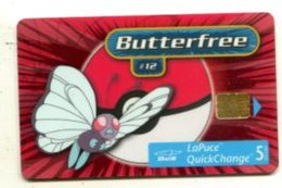 TK 13861 Canada -  Chip Pokemon -Butterfree  30 000 Ex. - Canada