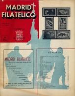 1953 . MADRID FILATÉLICO , AÑO XLVII , Nº 545 / 12 ,  EDITADA POR M. GALVEZ - Revistas