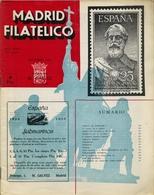 1953 . MADRID FILATÉLICO , AÑO XLVII , Nº 544 / 11 ,  EDITADA POR M. GALVEZ - Revistas