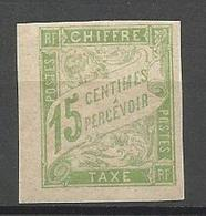 COLONIES FRANCAISES TAXE N° 20 NEUF**  SANS CHARNIERE / MNH - Postage Due