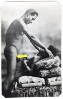 PHOTO NOIRE-BLANC EROTIQUE FEMININ NU NUDE PORNO REPRODUCTION D'EPOQUE Dim.:5.20X 7,90cm VOYEZ SCAN - Belleza Feminina (1941-1960)