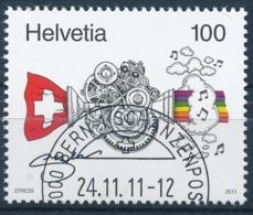 1411 - Gebraucht - Mit Stempel Bern 1 Schanzenpost - Usati
