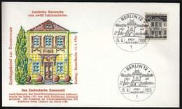 Germany Berlin 1966 / German Architecture Of 12th Ct. / Bauwerke / Konigsberg - FDC: Covers