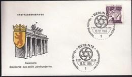 Germany Berlin 1966 / German Architecture Of 12th Ct. / Bauwerke / Lowenberg - FDC: Covers