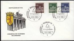 Germany Berlin 1966 / Rollenmarken - FDC: Covers