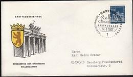 Germany Berlin 1967 / Rollenmarken - FDC: Covers