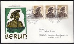 Germany Berlin 1967 / Berlin's Art Treasures - FDC: Covers