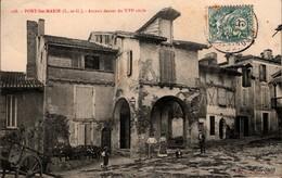 PORT-Ste-MARIE (47) - Arceau Datant Du XVIe Siècle - ANIMÉE - Charrette - Sonstige Gemeinden
