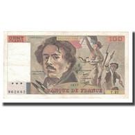 France, 100 Francs, Delacroix, 1979, TTB, Fayette:69.03, KM:154b - 1962-1997 ''Francs''