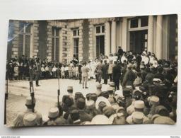 Foto Ak Soldaten Medailles Hopital? Soeur Photo Mullard Yerres - Weltkrieg 1914-18
