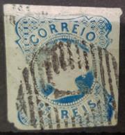 PORTUGAL 1853 - Canceled - Sc# 2 - 25r - Usati
