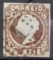PORTUGAL 1853 - Canceled - Sc# 1 - 5r - 1853 : D.Maria