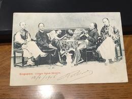 SINGAPORE - Chinese Opium Smokers - Singapore