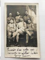 Foto Ak Soldaten Francais In Uniform Regiment 158 Bruyeres-corsieux Souvenir Du Poilu - Weltkrieg 1914-18