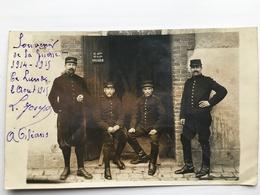 Foto Ak Soldaten Francais Sellerie 1915 - Weltkrieg 1914-18