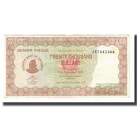 Billet, Zimbabwe, 20,000 Dollars, 2003, 2003-12-01, KM:23e, SUP - Zimbabwe