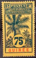 GUINÉE 1906 - Canceled - YT 44 - 75c - Guinea Francese (1892-1944)