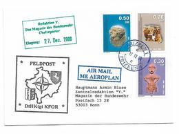 Kosovo KFOR Prizren 200 Send To Germany ART Stamp - Kosovo