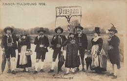 PINZGAU AUSTRIA~KAISER HULDIGUNG 1908 KARL HINTNER PHOTO POSTCARD 42633 - Österreich