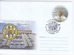 2019 , Moldova , Moldavie , Moldau , 25 Years - Court Of Auditors , Pre-paid Envelope - Moldawien (Moldau)