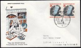 Germany Berlin 1972 / Post / Stamp's Day - Tag Der Briefmarke