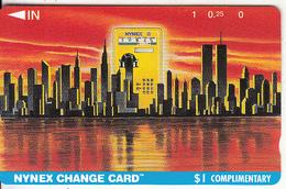 USA(Tamura) - Manhattan Skyline, Nynex Telecard, First Issue, Tirage 80000, Mint - Schede Magnetiche