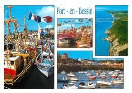 PORT EN BESSIN 6(scan Recto Verso)ME2680 - Port-en-Bessin-Huppain