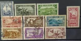 SYRIE 1925 - MLH/canceled - YT 154, 155, 156, 158, 160, 161, 162, 163, 164, 165 - Syrie (1919-1945)