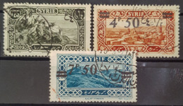 SYRIE 1926 - Canceled - YT 180, 181, 182 - Gebruikt