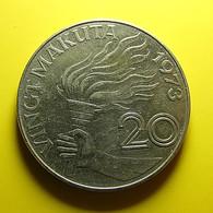Zaire 20 Makuta 1973 - Zaire (1971-97)