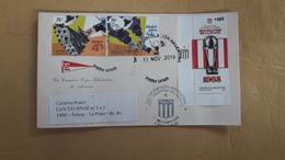 Couverture Argentine Distribuée Avec Des Timbres De Football, Des étudiants Du Club Et Autres - Club Mitici