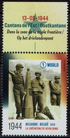 Belgien Belgie Belgium 2019 - Befreiung Drei-Länder-Punkt 1944 - Moresnet Vaals Aachen - 2. Weltkrieg