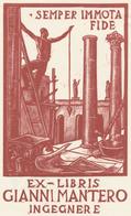 Ex Libris Gianni Mantero - Publio Morbiducci - Ex Libris
