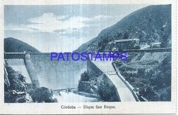 125701 ARGENTINA CORDOBA DIQUE SAN ROQUE POSTAL POSTCARD - Argentina