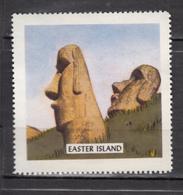 Vignette, Cinderella, île De Pâques, Easter Islande, Moaï, Antiquité, Antiquity, Préhistoire, Prehistory - Monumenti