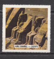 Vignette, Cinderella, égyptologie, Egyptology, Antiquité, Antiquity, Abu Simbel - Egyptology
