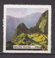 Vignette, Cinderella, Préhistoire, Prehistory, Machu Picchu, Montagne, Mountain - Vor- Und Frühgeschichte
