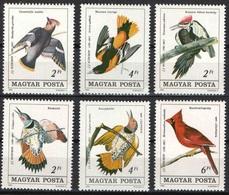 1985Hungary3760-3765Birds6,00 € - Segler & Kolibris