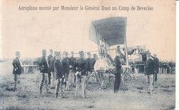 Camp De Béverloo - Aéroplane Monté Par Monsieur Le Général Ruet - Leopoldsburg (Camp De Beverloo)