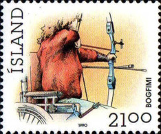 Islande Poste N** Yv:681 Mi:728 Bogfimi Tir à L'arc (Thème) - Bogenschiessen
