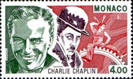 Monaco Poste N** Yv:1680 Mi 1906 Yv:2,5 Euro Charlie Chaplin (Thème) - Acteurs