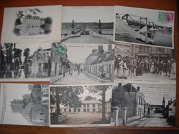 LOT De 30 CPA Du Départ. 45 Loiret (3 Scans) - Postkaarten