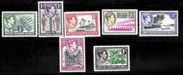 British Solomon Islands Scott   67... 75 Lot Of 7 Mint NH CV 7.00 - British Solomon Islands (...-1978)