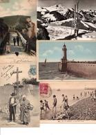 Lot De 500 CPA-CPSM  Petits Formats (France En Majorité) - Drouille Et Petites Cartes (lot En Vrac 1) - Postkaarten