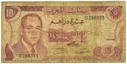 Morocco - 10 Dirhams - 1970 / AH 1390 - Pick 57.a - Sign. 8 - Serie BC/59 - King Hassan II - BANQUE DU MAROC - Marokko