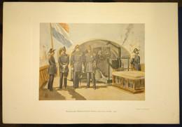 "MARINE NEDERLANDS LEGER: ""Koninklijke Nedelandsche Marine (groote Tenue) 1899"" - Uniform"