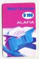 TK 13871 GAMBIA - Prepaid West Telecom - Gambia
