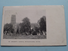 WIVELISCOMBE, South - St. Andrew's Church ( ) Anno 1904 ( Zie Foto ) - Angleterre