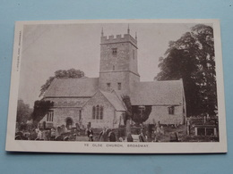 YE OLDE Church Broadway ( J. Jacques ) Anno 19?? ( Zie Foto ) - Worcestershire